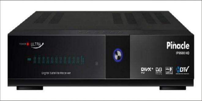 تحديث جديد لرسيفر PINACLE IP9500HD ULTRA بتاريخ 2016