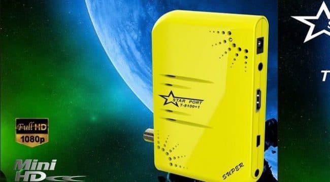 سوفت وير جهاز ستار بورت STARPORT T-81001 HD بلص