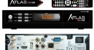 تحديث جديد جهاز atlas 100hd اصدار A132 بتاريخ 29-8-2016
