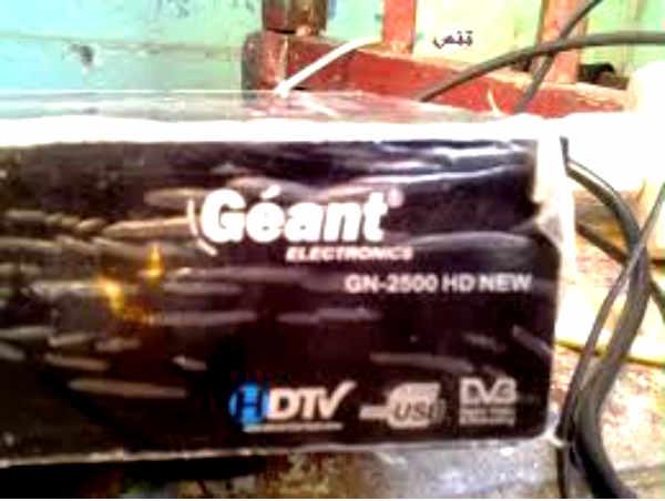 جهاز Geant 2500 HD New مع حل مشكله القنوات المشفره علي سيرفر CCcam