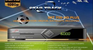 جهاز Star Track SRT 750 HD PLUS مع سوفت وير أصلي لحل مشاكل الجهاز