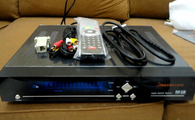 رسيفر QMAX VHD2 مع احدث تحويل الي رسيفر star max وتشغيل السيرفر
