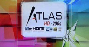 جهاز Atlas HD-200 مع احدث ملف قنوات بتاريخ اليوم 9-10-2016