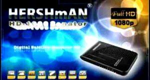 رسيفر Hershman 1000 Senator Hd Mini مع احدث ملف قنوات بتاريخ 25-10-2016