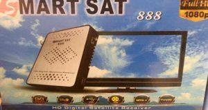 رسيفر Smart Sat 888 Hd Mini مع احدث ملف قنوات عربي – انجليزي بتاريخ 26-10-2016