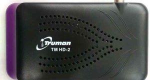 رسيفر Truman TM HD 2 mini مع احدث ملف قنوات بتاريخ اليوم 1-11-2016