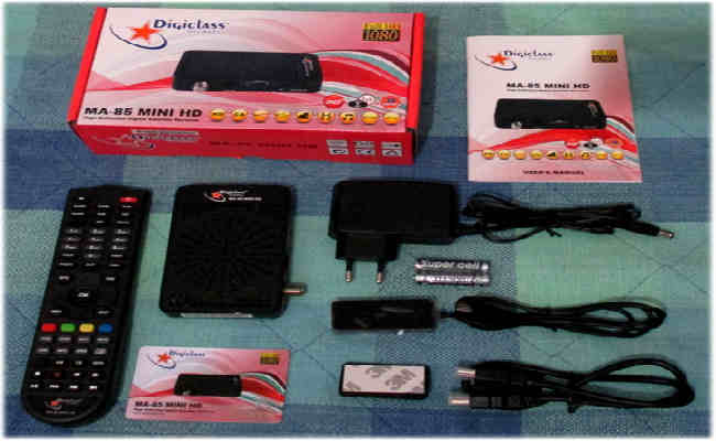 سعر ومواصفات Digiclass MA-85 MINI HD معالج Sunplus 1506A