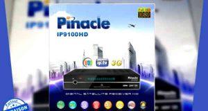 جهاز pinacle 9100 مع تحديث فلاش جديد لتحسين عمل سيرفر ال gshar 3