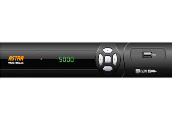 رسيفر Astra 11500 HD max مع احدث ملف قنوات بتاريخ اليوم 2019