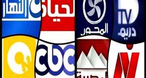ترددات القنوات المصرية علي القمر نايل سات بأخر تحديث 2017