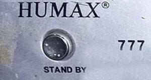 رسيفر Humax 777 مع لودر و سوفت وير أصلي لحل مشاكل الجهاز