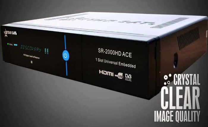 جهاز StarSat SR-2000 HD ACE مع اخر تحديثات الاصدار 1.75-1.74-1.09-1.83-1.81