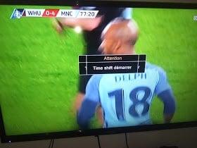 تشغيل خاصية التايم شيفت time shift على اجهزة الجيون géant لمشاهدة المباريات