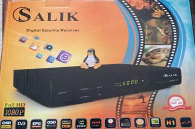 كيوماكس QMAX SALIK H1 MINI والكبير مع سوفت وير لفتح القنوات المشفرة وتشغيل IPTV