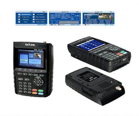 Digital Satellite TV Finder SATLINK WS-6916 DVB-S/S2 HD