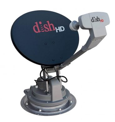 (Satellite TV Antenna for DISH (Stationary, Roof Mount, Multi- Satellite