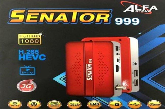 سعر ومواصفات سيناتور 999 الاحمر Senator 999 Mini HD + Wifi USB