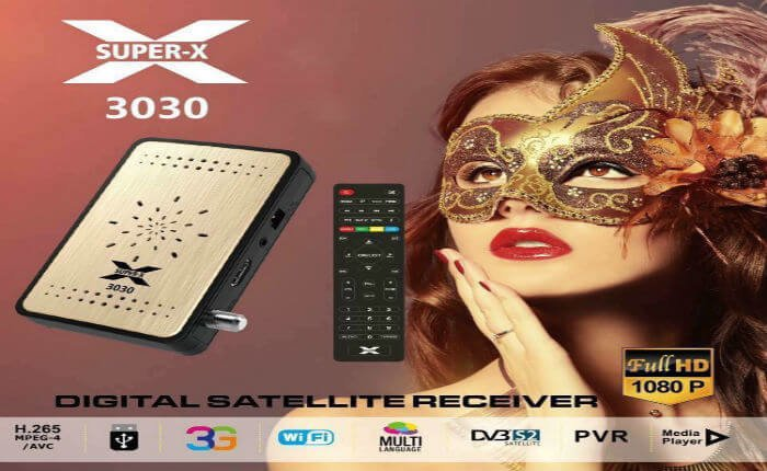 SuperX-3030 HD سوفت وير ريسيفر سوبراكس 3030 لتشغيل قنوات BeoutQ