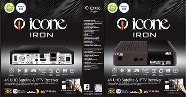 سعر ومواصفات ICONE IRON 4K UHD ايكون ايرون الترا اتش دي