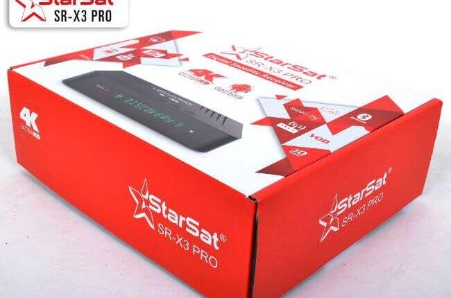 مواصفات جهاز starsat SR- X3 Pro 4k الترا اتش دي
