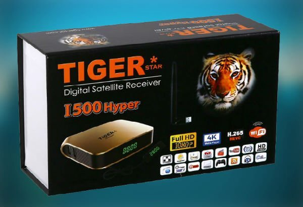 TIGER I500 HYPER تحديثات جهاز تايجر هايبر 2019